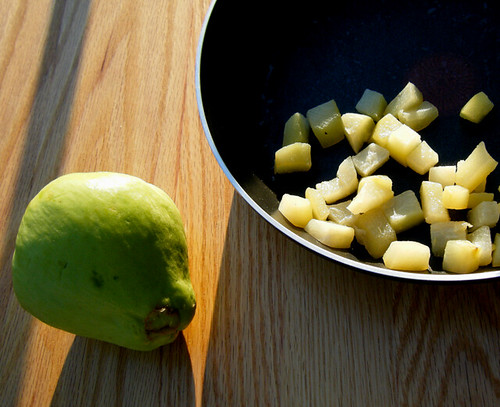 Low Carb Chayote Apples