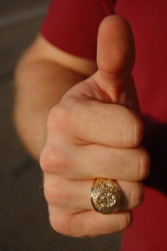 Brother's Aggie Ring