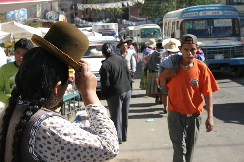 Cochabamba market...