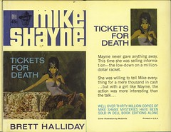 Tickets for Death (2) (Digital Sextant) Tags: mike hard brett shayne boiled detective hardboiled halliday mikeshayne bretthalliday
