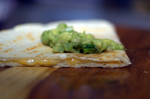 duck quesadillas with chipotle cherry salsa and goat cheese cheese ...