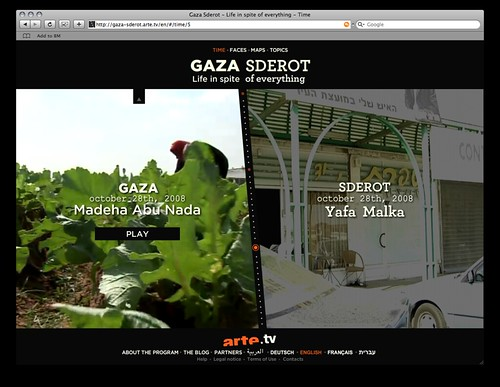 Gaza \ Sderot : life in spite of everything