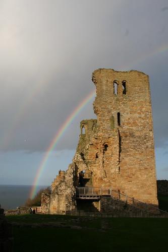Rainbow - The Keep - Scarborough Castle