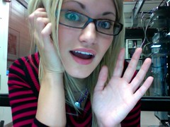 iGot (ijustine) Tags: glasses photobooth servers justineezarik ijustine