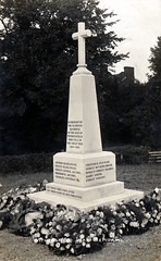 Withersfield war memorial (tomylees) Tags: flowers suffolk cross postcard jacobs ww1 warmemorial paxman loveday withersfield c1920