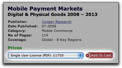 Juniper Mobile Markets PDF, only £1750