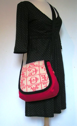 warm red winterbag