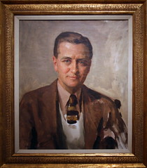 F. Scott Fitzgerald, 1935 by David Silvette, Oil on canvas by cliff1066 on Flickr!