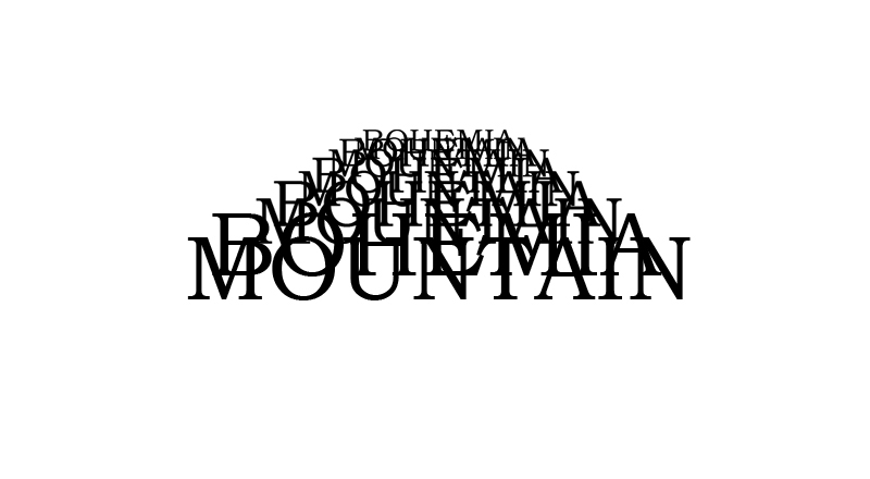 BOHEMIA MOUNTAIN logo
