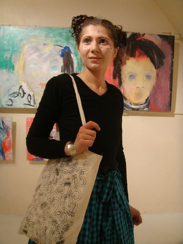 Jessica at Red Gate Gallery