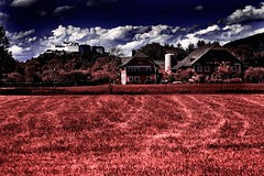 Salzburgo, alrededores (infrarroja) (Angel Villalba) Tags: salzburg infrared fortress austrian mywinners colourartaward