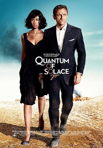 Quantum of solace poster movie
