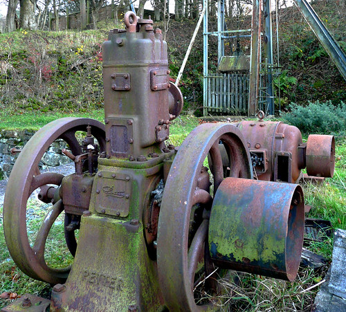Old mine engine 15Nov08