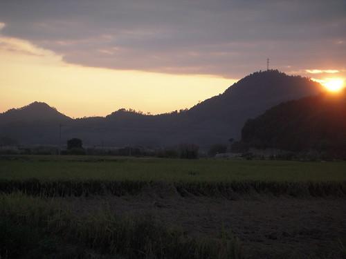 Sunset on the land - 6