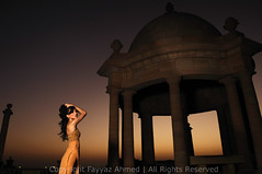 (Fayyaz Ahmed) Tags: pakistan sunset portrait girl fashion nikon parade karachi kothari