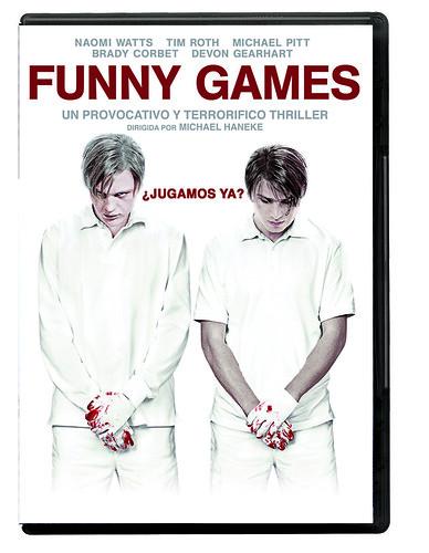 Funny Games lanzamiento en DVD 25 de noviembre