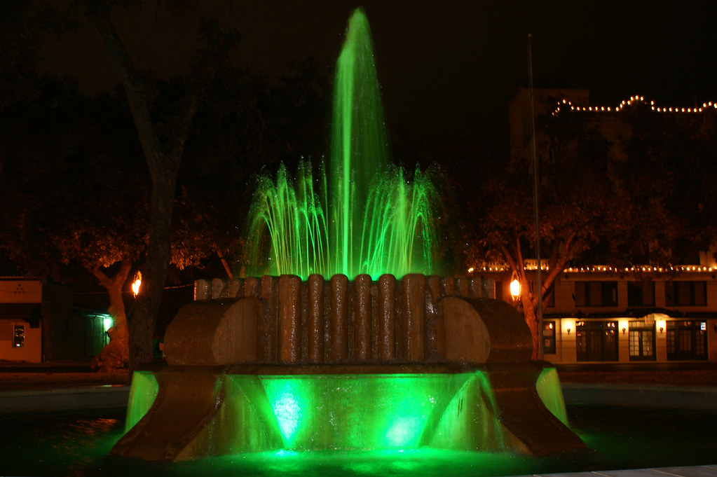 green fountain
