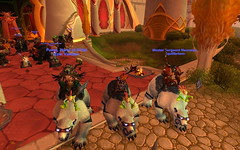 POLARBEAR (pandaramic) Tags: bear october worldofwarcraft warcraft mount polar 2008 isle duskwood sunwell