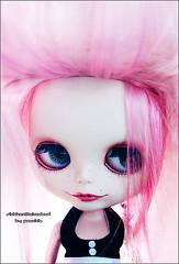 Rencontre avec Siobhan (★ ♥ Pounkie ☠ †) Tags: portrait meeting db blythe toulouse custom custo siobhan rencontre chezmorgane blythecustom daintybiscuit akadoud