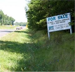 adjacent to historic battlefield, a Walmart? (by: Civil War Preservation Trust)