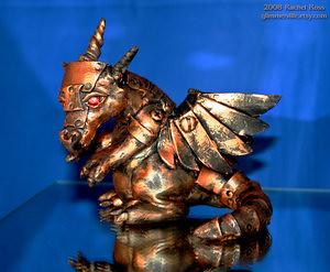 Copper Mech Dragon