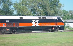 Beacon Line Excursion (blazer8696) Tags: railroad ny newyork 2004 electric general metro sony north cybershot junction locomotive genesis popular ge hopewell 230 excursion metronorth mcginnis ndc cdot dscf707 hopewelljunction p32acdm dsc02357 t2004