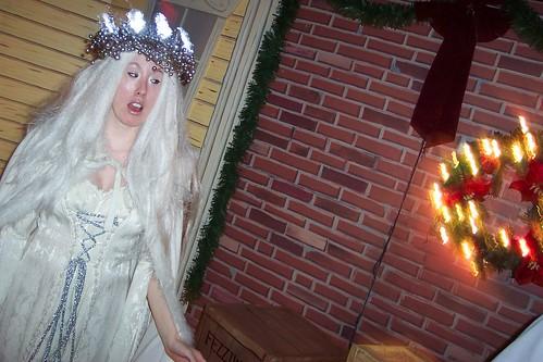 Trolley Christmas Carol: The First Spirit Arrives