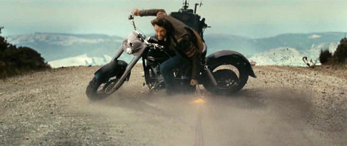 X-Men Origins: Wolverine moto