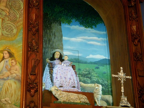 Divina Pastora en su Altar