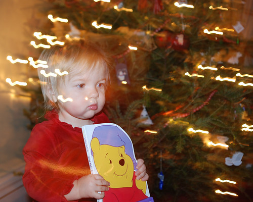 Eva and Winnie-the-Pooh