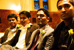 Wedding friends (WorldofArun) Tags: wedding friends love college church minnesota lights nikon october cathedral 26 sunday minneapolis marriage chapel romance lovers christian surprise planet twincities northwestern bliss 2008 pastor minister ambiance roseville wedded 18200mm nikond40x yenumula worldofarun arunyenumula