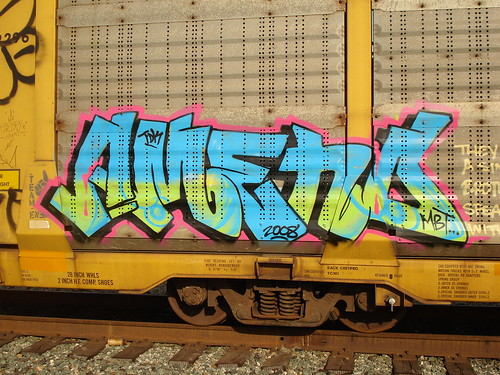 Amend TDK MBT Oakland Freights Graffiti Art