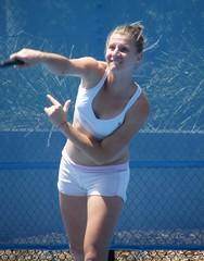SESIL KARATANTCHEVA (NAPARAZZI) Tags: tennis bulgaria bulgarian sesil karatantcheva