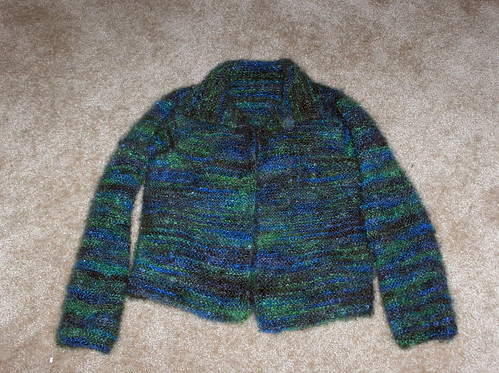 Garter Stitch Jacket and knitting math A Knitter Who Knits