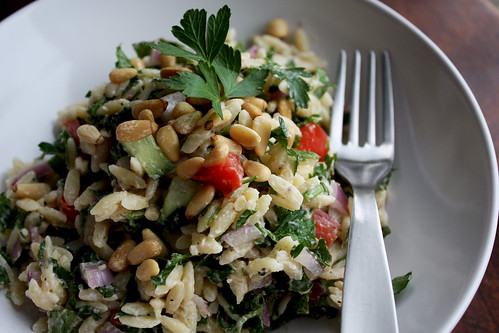 Greek Orzo Salad