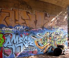 Omega, Joke (Rebirth Cycle) Tags: sanfrancisco graffiti joke omega klevr htf ase dwt