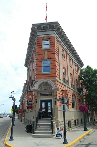Historic downtown Lacombe walking tour
