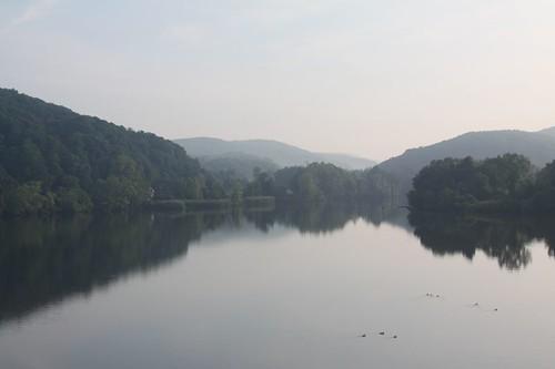 Tranquil Hudson River