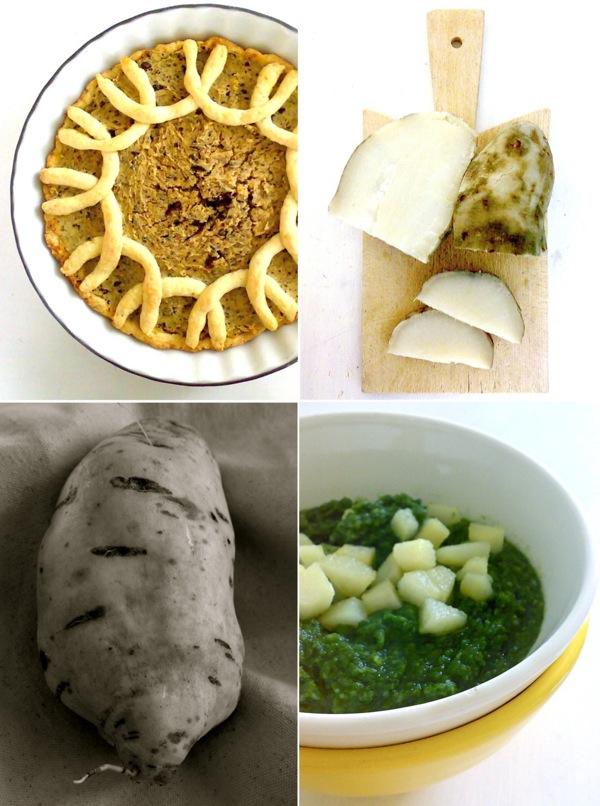 cucinando con le patate dolci