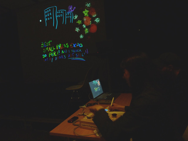 Stef Gaines with Tagtool