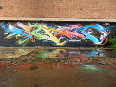 copperworks (Multiple sickness) Tags: art graffiti item vomit walsall vomet