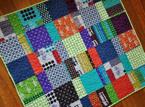 Izzy's quilt - front