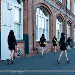 29 :: 31 (sweethardt) Tags: woman women sandals mini cage skirt purse brunette clone purses stilettos louboutin