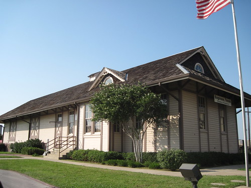 Saginaw Train Depot, Saginaw, Texas by fables98