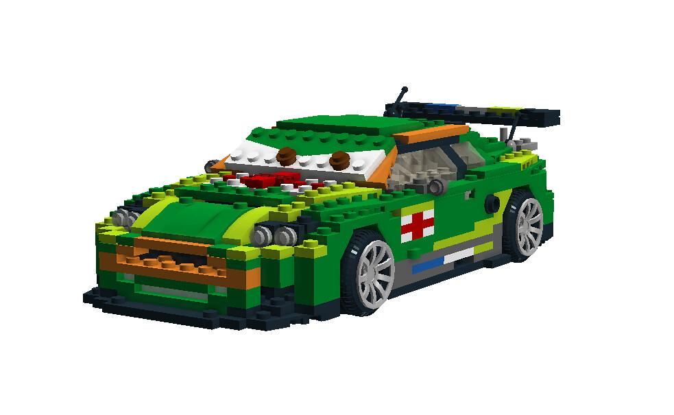 Nigel Gearsley - Disney / Pixar Cars 2 Movie Character