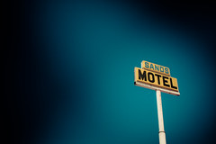 Sands Motel - Route 66 (TooMuchFire) Tags: signs newmexico route66 signage vignetting grants oldsigns vintagesigns canon30d sandsmotel route66signs toomuchfire 112mcarthurstgrantsnm