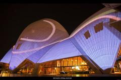 Sydney Opera House - Lighting the Sails (Taha Elraaid) Tags: lighting camera house canon photography opera sydney sails vivid australia nsw 7d taha wollongong bankstown photography2011 elraaid