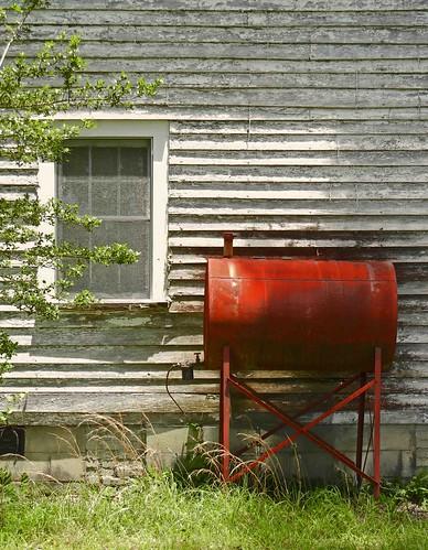 Big Abandoned American Foursquare Farm House, ca. 1915:  Tarboro Vicinity, Edgecombe County, NC