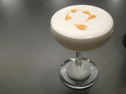 Pisco Sour at Aviary