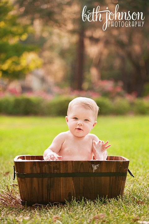 Alexa: 9 Months   Tallahassee Florida Baby Photography » Tallahassee ...